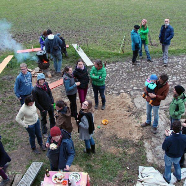 Solawi-Frühlingsfest: Kleine Lämmer, großes Glück