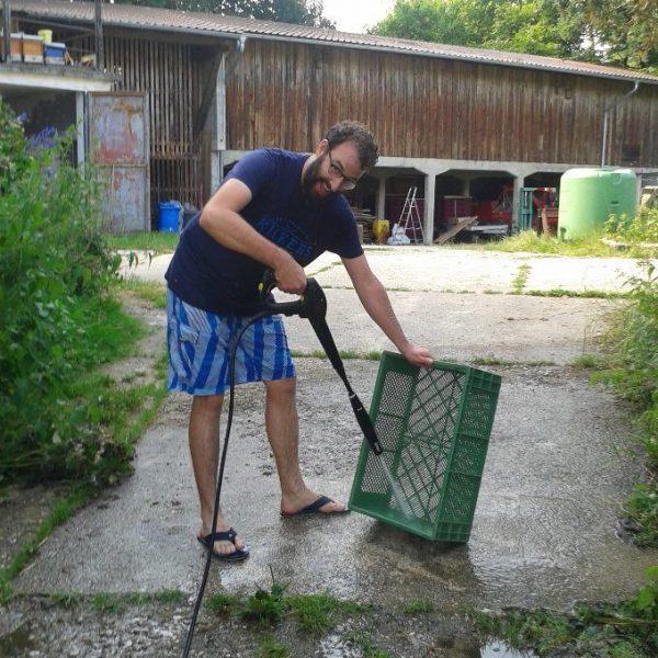 Juhu – unsere Kisten sind wieder sauber!