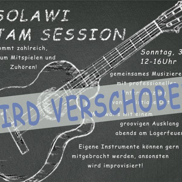 31. Juli - Solawi Jam Session