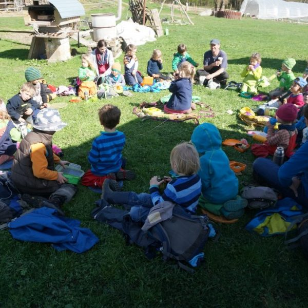 Waldkindergarten zu Gast