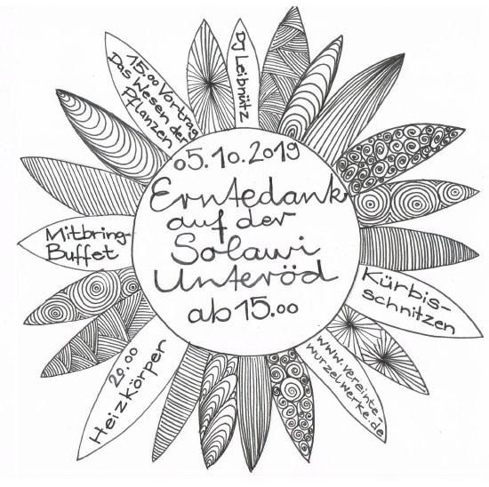 Erntedankfest 2019 am Samstag, 5. Oktober