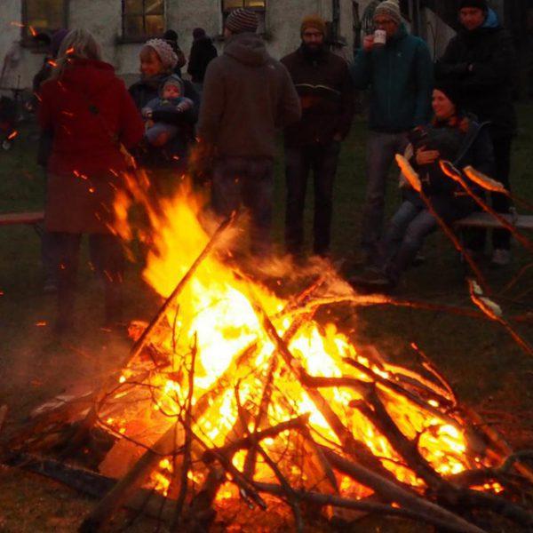 21. Dezember: Wintersonnwendfeier